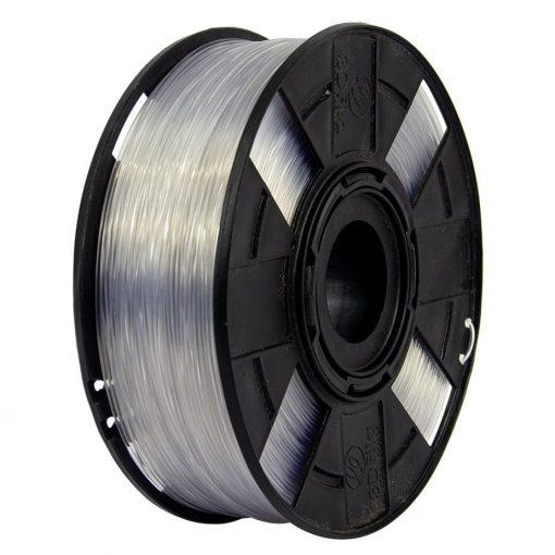 Filamento Flexível TPU - Transparente - 3D Fila - 1.75mm - 1KG