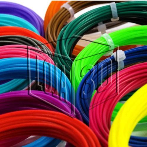 Filamento para Caneta 3D - ABS Pro - LG - Loja 3D - 10 Rolinhos de 5 Metros - 50 metros