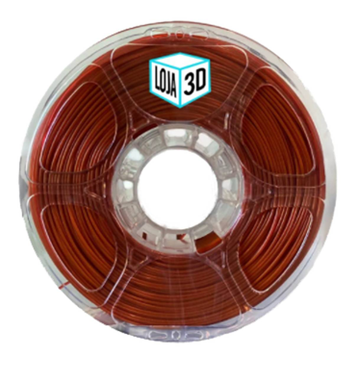 Filamento PET-G Pro - Caramelo - Loja 3D - 1.75mm - 1kg