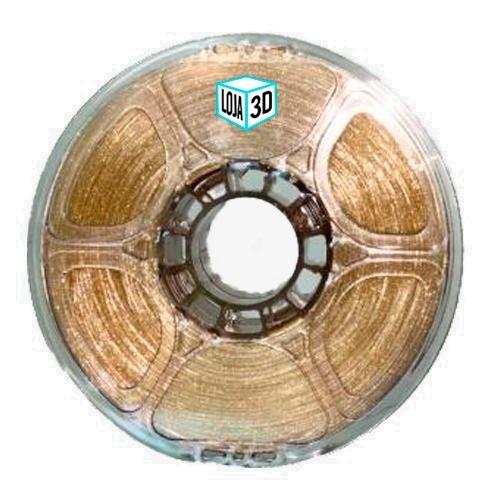 Filamento PET-G Pro - Glitter - Loja 3D - 1.75mm - 1kg