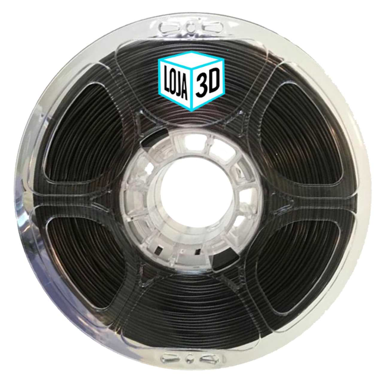 Filamento PET-G Pro - Marrom Escuro - Loja 3D - 1.75mm - 1kg
