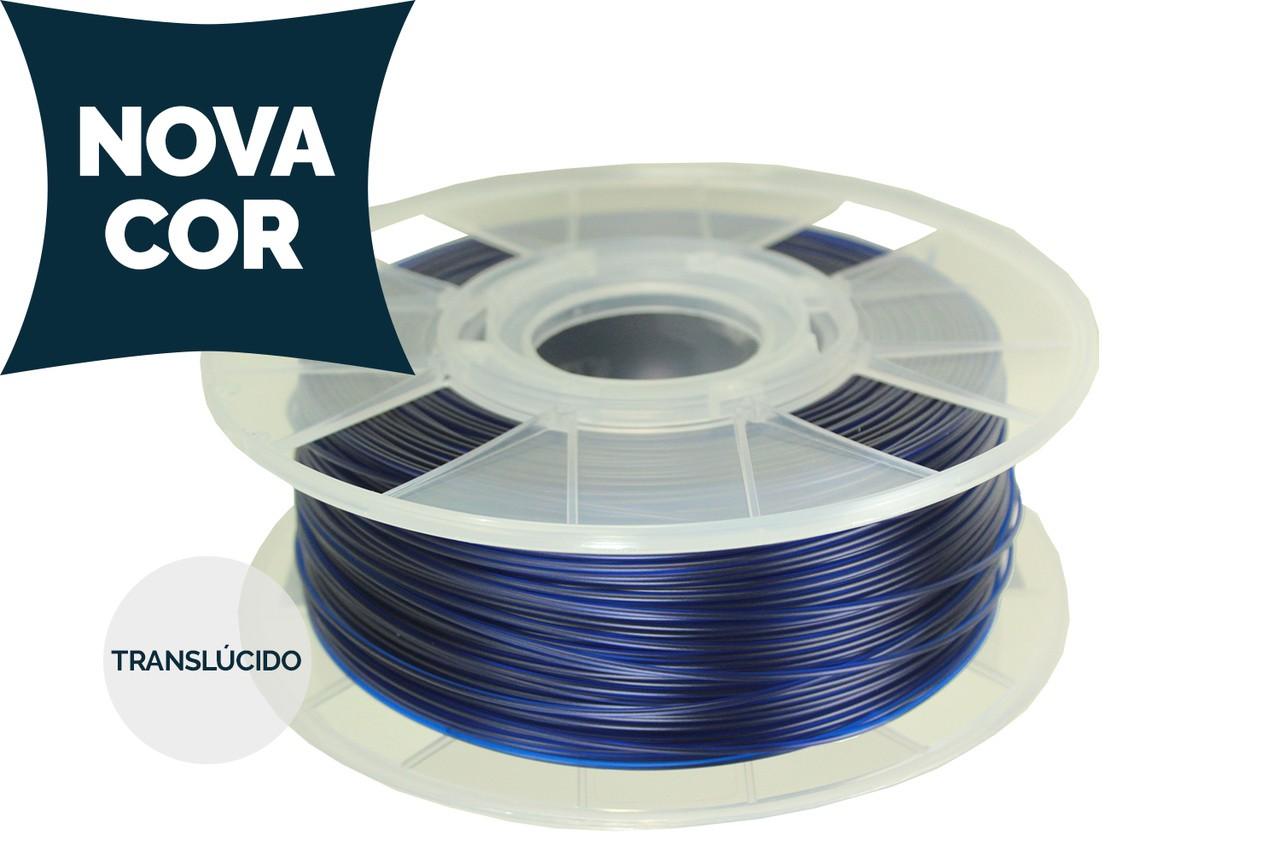 Filamento PETG - Azul - Cliever - 1.75mm - 1kg
