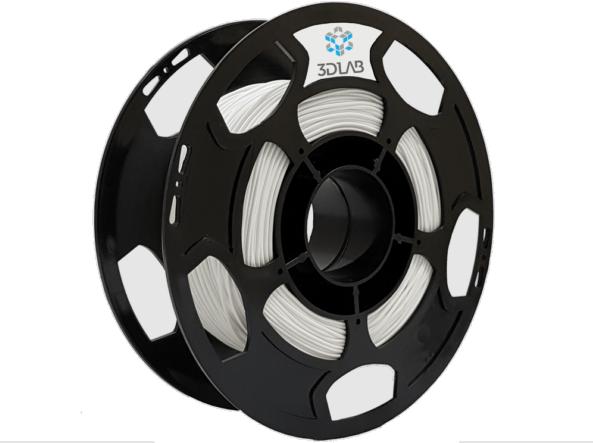 Filamento PETG - Branco - 3D Lab - 1.75mm - 500g