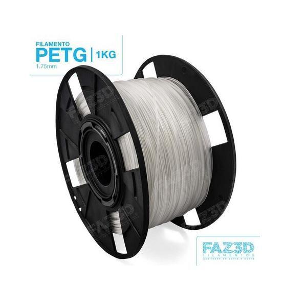 Filamento Petg - Natural - FAZ3D - 1.75mm - 1kg