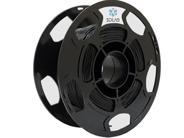 Filamento PETG - Preto - 3D Lab - 1.75mm - 500g
