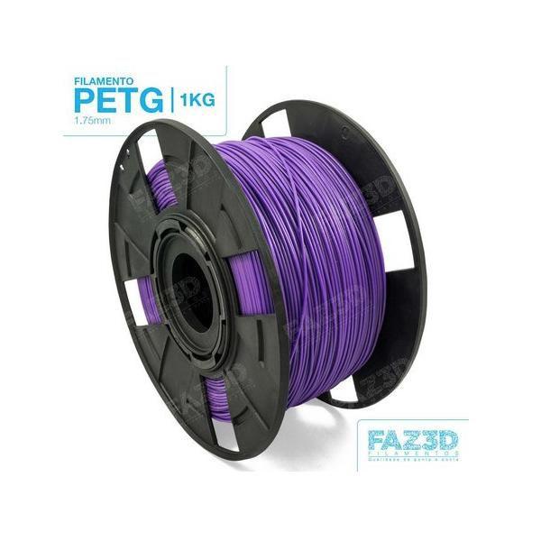 Filamento Petg - Roxo - FAZ3D - 1.75mm - 1kg