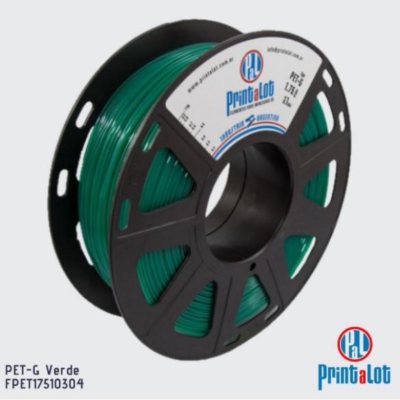 Filamento PETG - Verde - PrintaLot - 1.75mm - 1KG