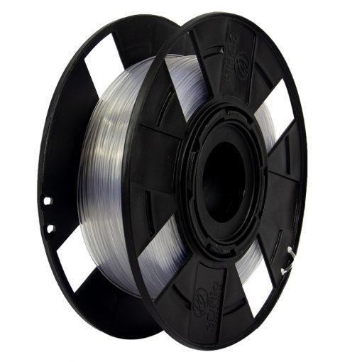Filamento PETG XT - Glass Colorless - 3D Fila - 1.75mm - 500 gramas