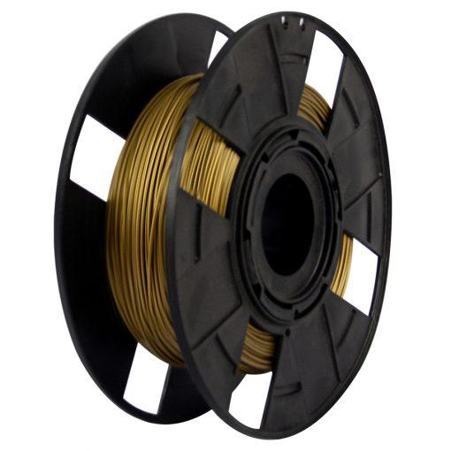 Filamento PETG XT - Gold Metal - 3D Fila - 1.75mm - 500 gramas