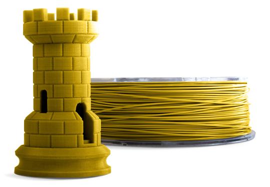 Filamento PLA - Amarelo Mostarda - Cliever - 1.75mm - 1kg