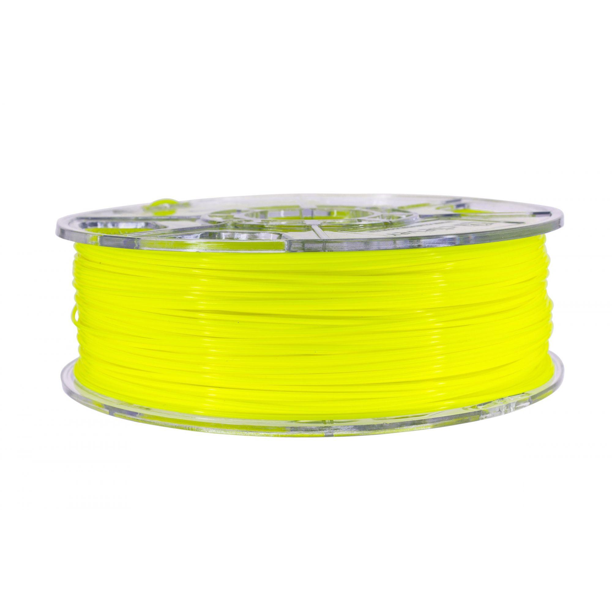 Filamento PLA - Amarelo Fluorescente - Cliever - 1.75mm - 1kg