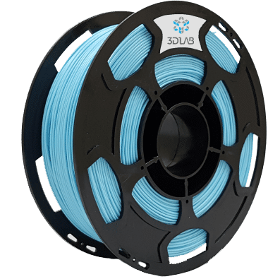 Filamento PLA - Azul Claro - 3D Lab - 1.75mm - 1kg
