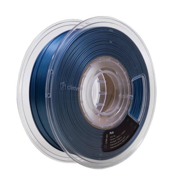 Filamento PLA - Azul Metalizado - Cliever - 1.75mm - 1kg