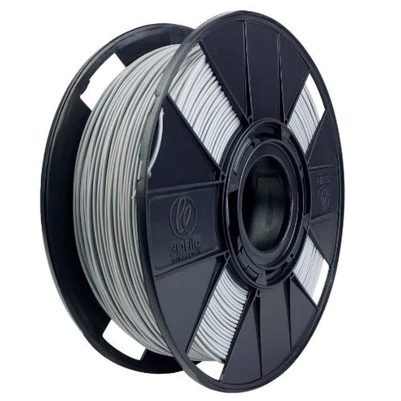 Filamento PLA Basic - Cinza Primer - 3D Fila - 1.75mm - 1 kg