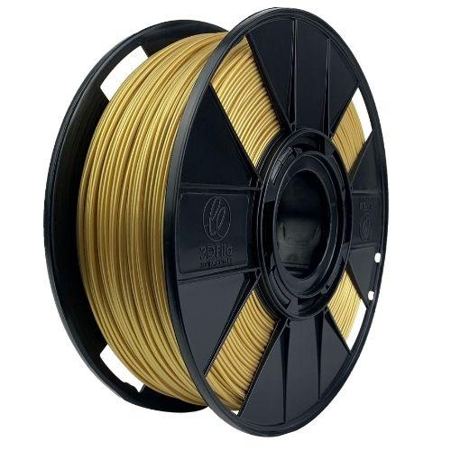 Filamento PLA Basic - Dourado - 3D Fila - 1.75mm - 1KG
