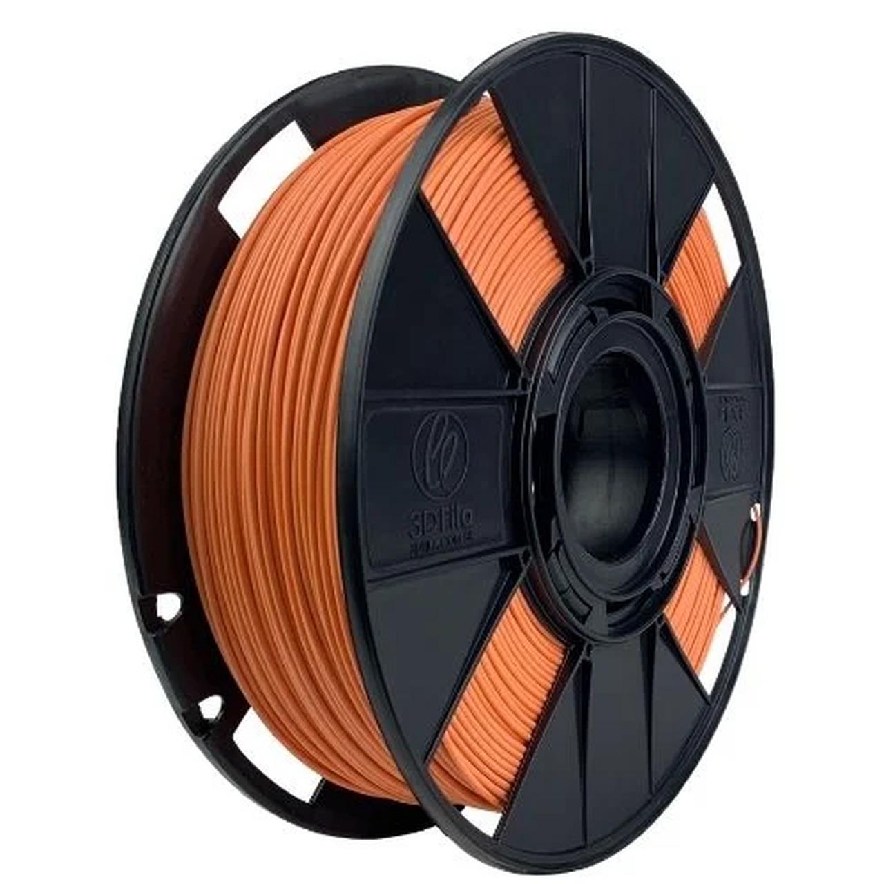 Filamento PLA Basic - Laranja Tijolo - 3D Fila - 1.75mm - 1KG