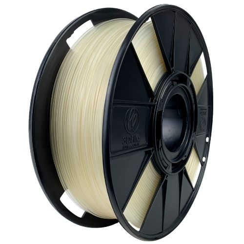 Filamento PLA Basic - Natural Transparente - 3D Fila - 1.75mm - 1KG