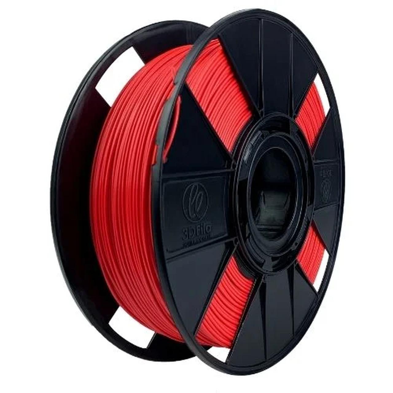 Filamento PLA Basic - Vermelho Carros - 3D Fila - 1.75mm - 1kg