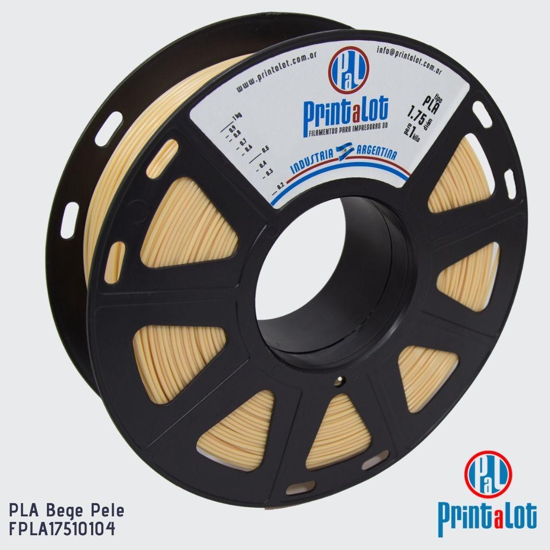 Filamento PLA - Bege Pele - PrintaLot - 1.75mm - 1KG