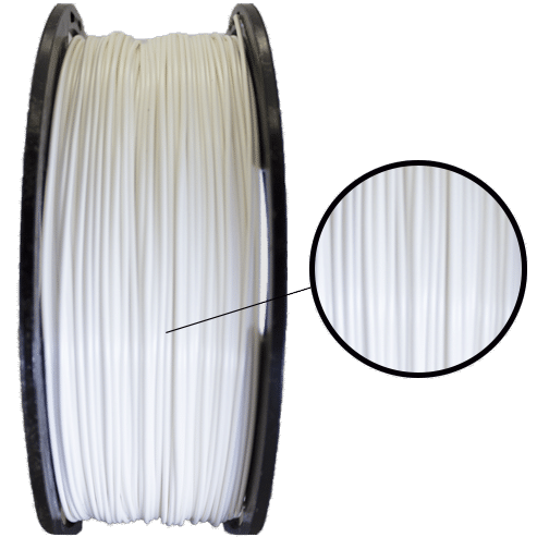 Filamento PLA - Branco - 3D Lab - 1.75mm - 200g