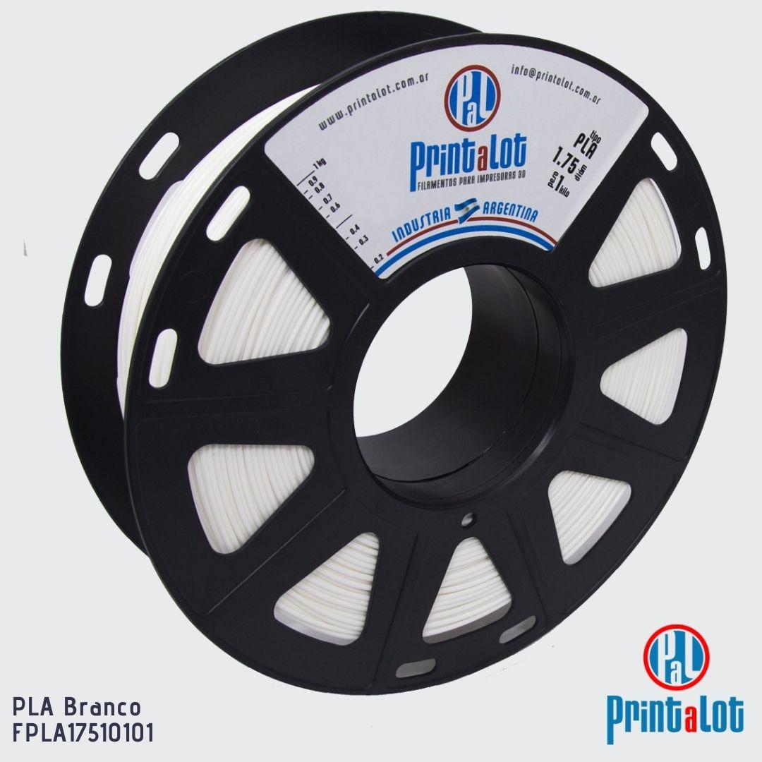 Filamento PLA - Branco - PrintaLot - 1.75mm - 1KG