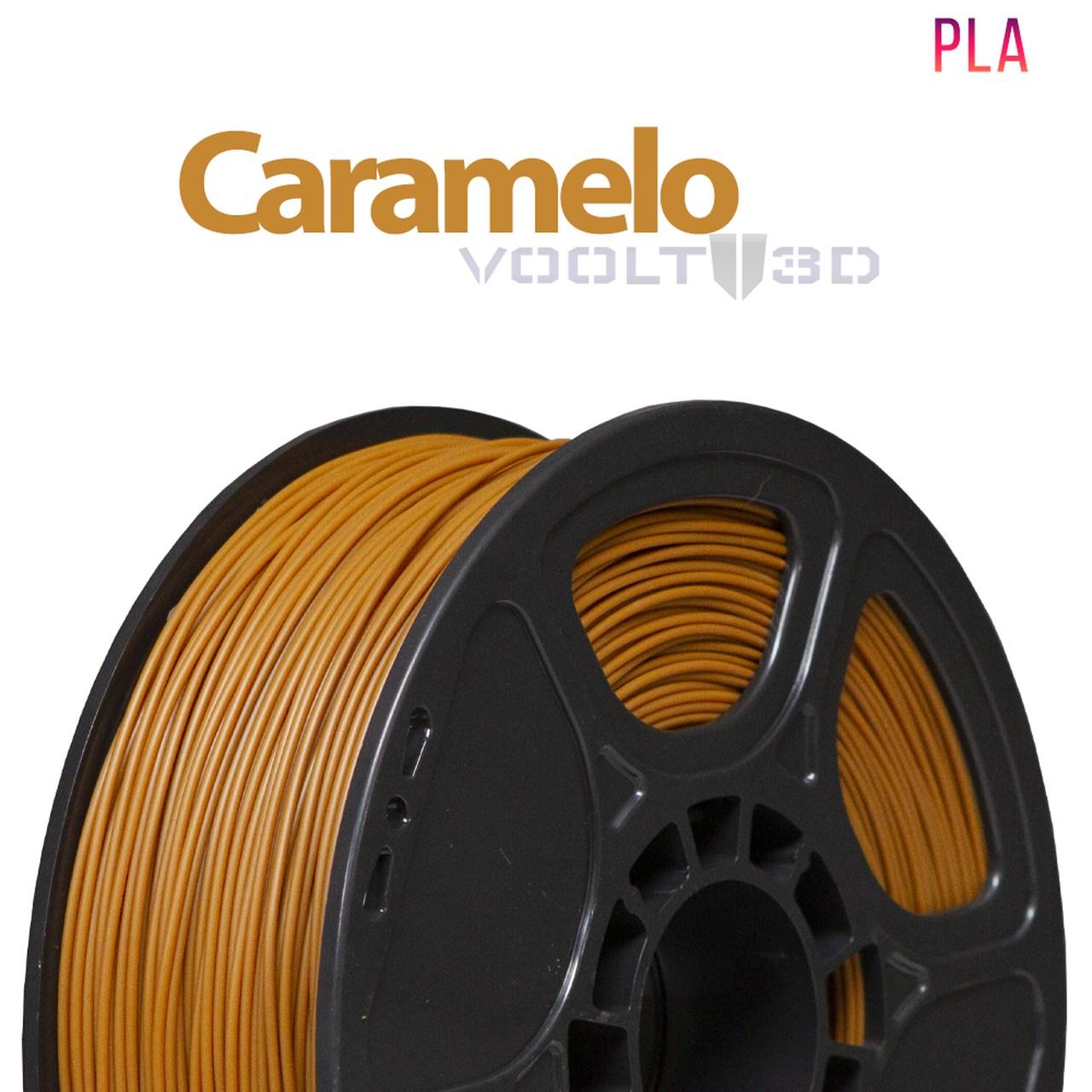 Filamento PLA - Caramelo - Voolt - 1.75mm - 1kg