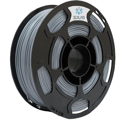 Filamento PLA - Cinza - 3D Lab - 1.75mm - 1kg