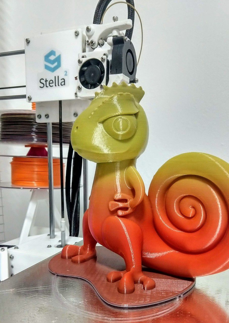 Filamento PLA - Decor Arco-íris - Material 3D -  1.75mm - 500g