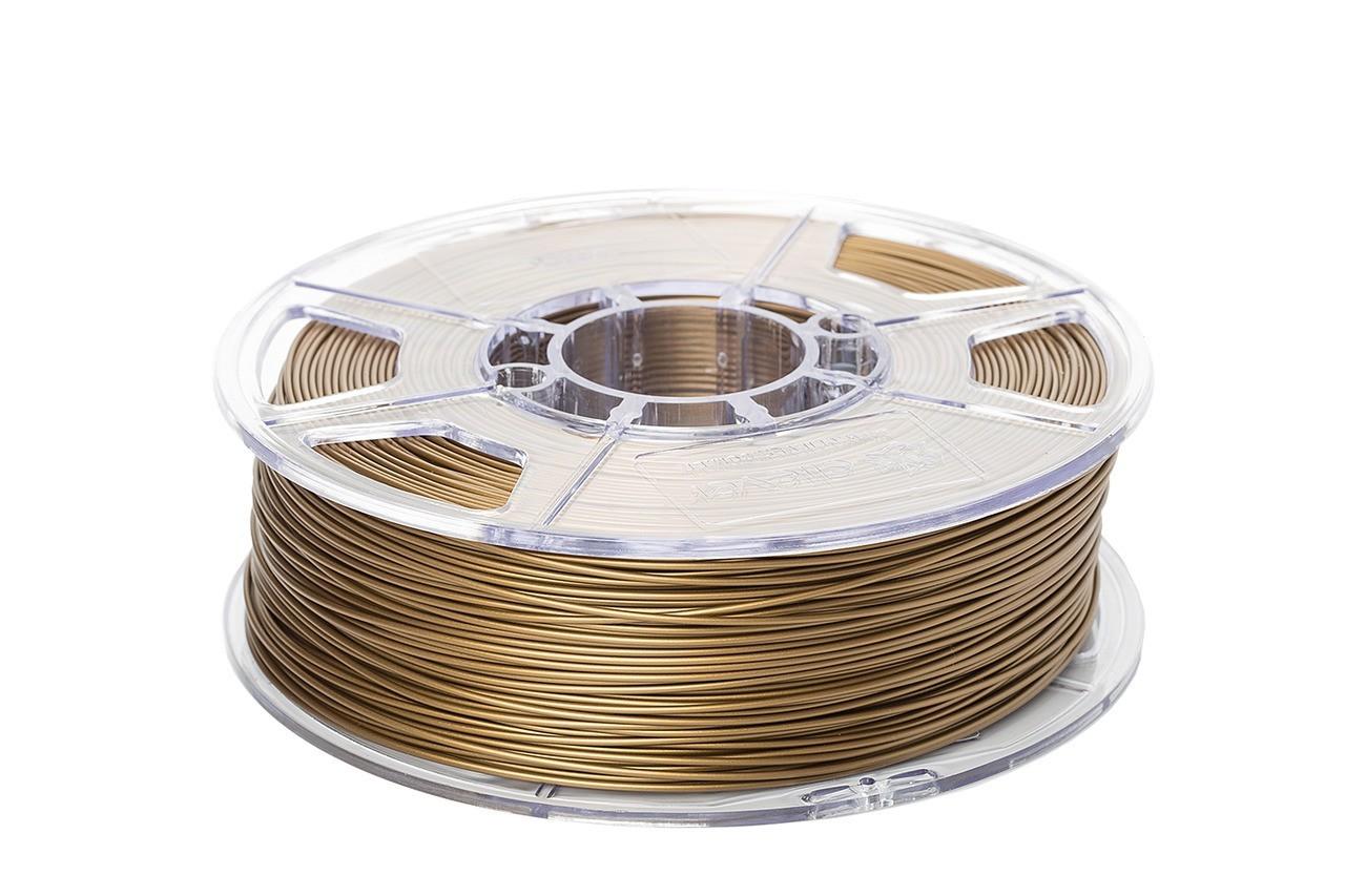 Filamento PLA - Dourado - Cliever - 1.75mm - 1kg + 1 Spray Fixador