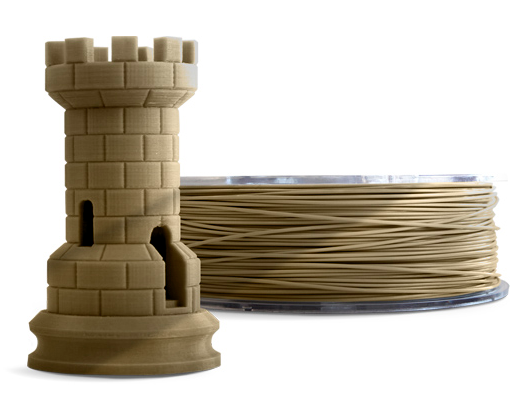 Filamento PLA - Dourado - Cliever - 1.75mm - 1kg