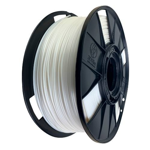 Filamento PLA EasyFill - Branco Pearl - 3D Fila - 1.75mm - 1KG