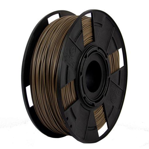 Filamento PLA EasyFill - Marrom Wood - 3D Fila - 1.75mm - 500g