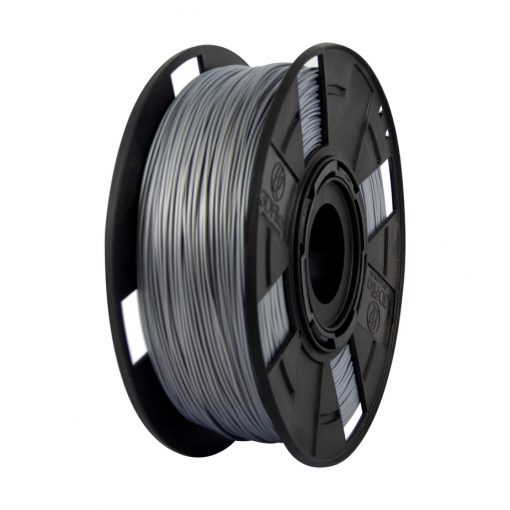 Filamento PLA EasyFill - Prata Machine - 3D Fila - 3.00mm - 1KG