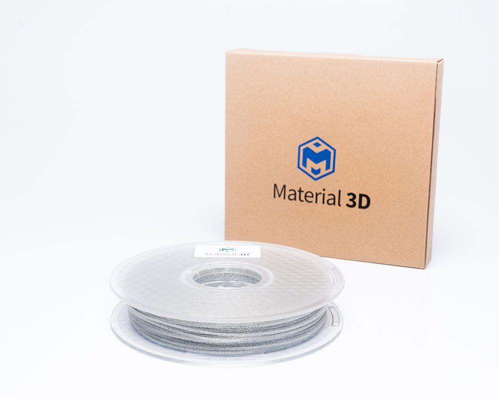 Filamento PLA - Galaxy Cinza - Material 3D -  1.75mm - 500g