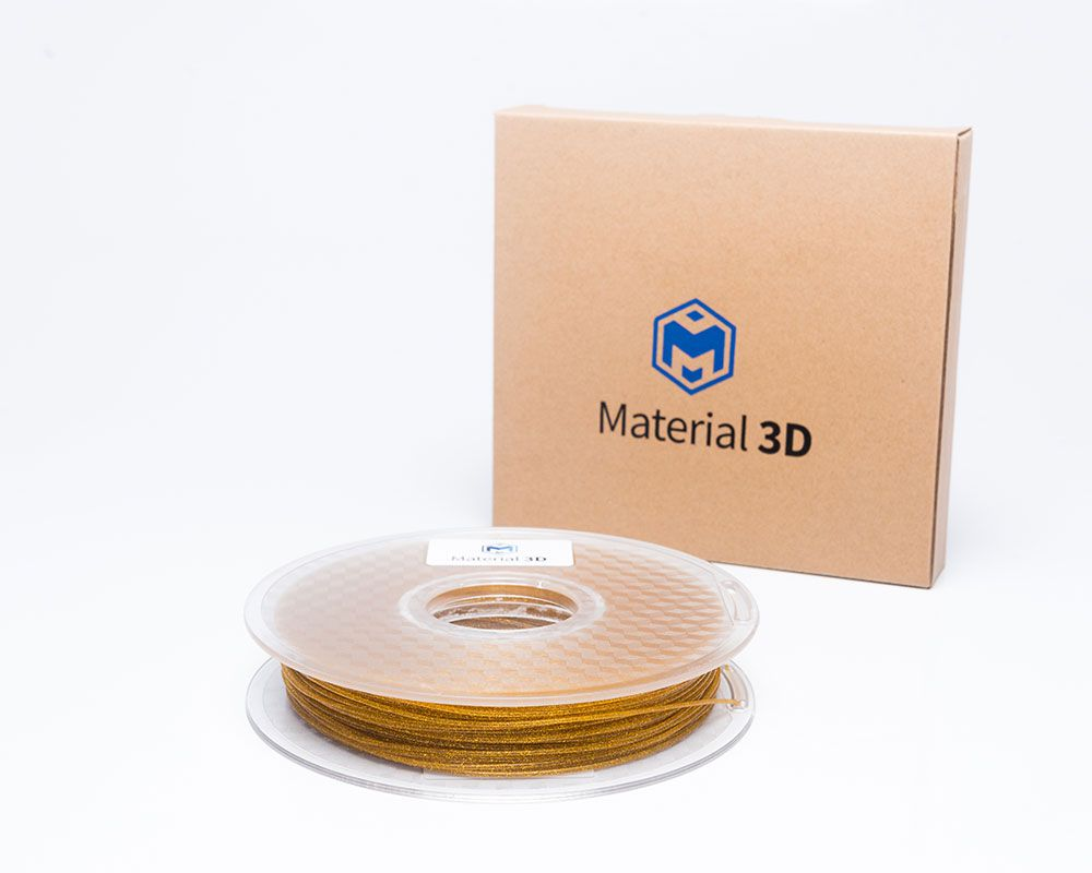 Filamento PLA - Galaxy Dourado - Material 3D -  1.75mm - 500g