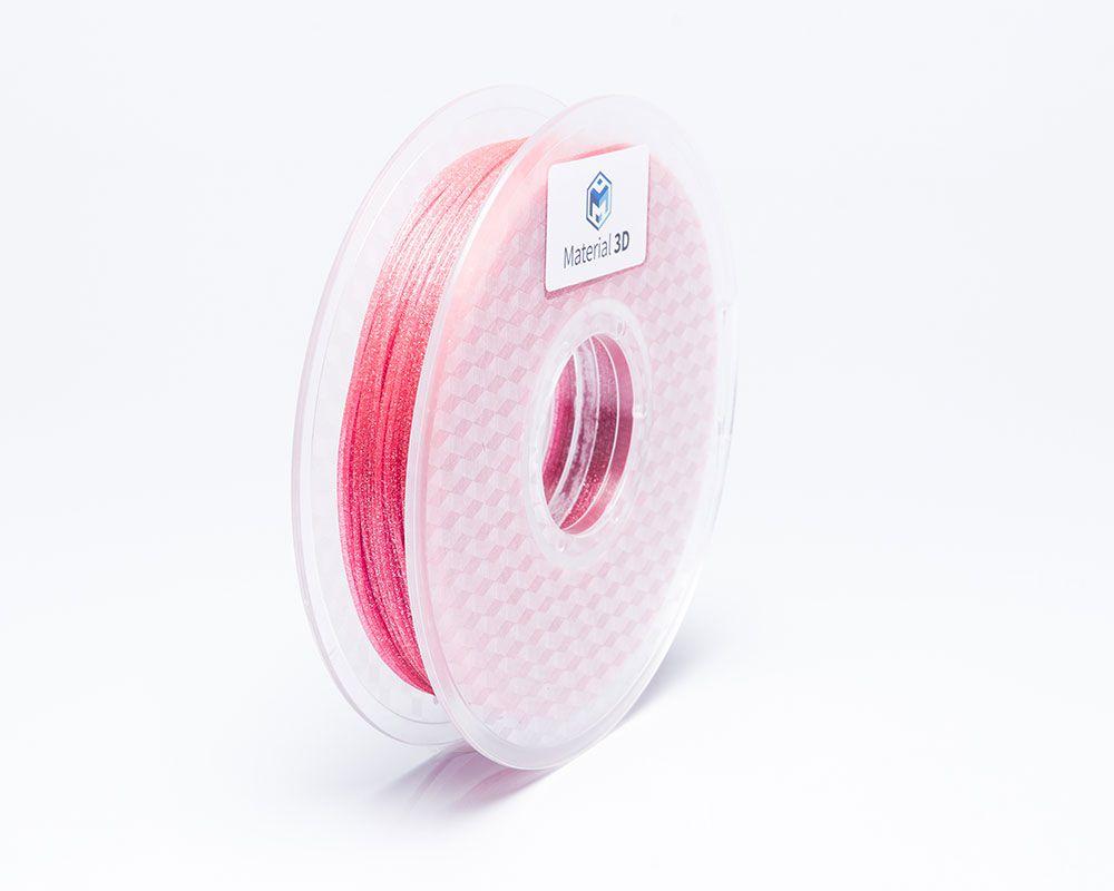 Filamento PLA - Galaxy Rosa - Material 3D -  1.75mm - 500g