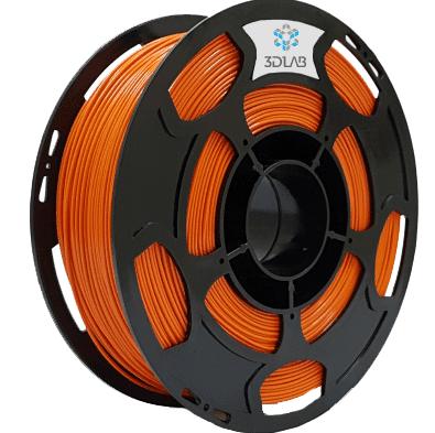 Filamento PLA - Laranja - 3D Lab - 1.75mm - 1kg