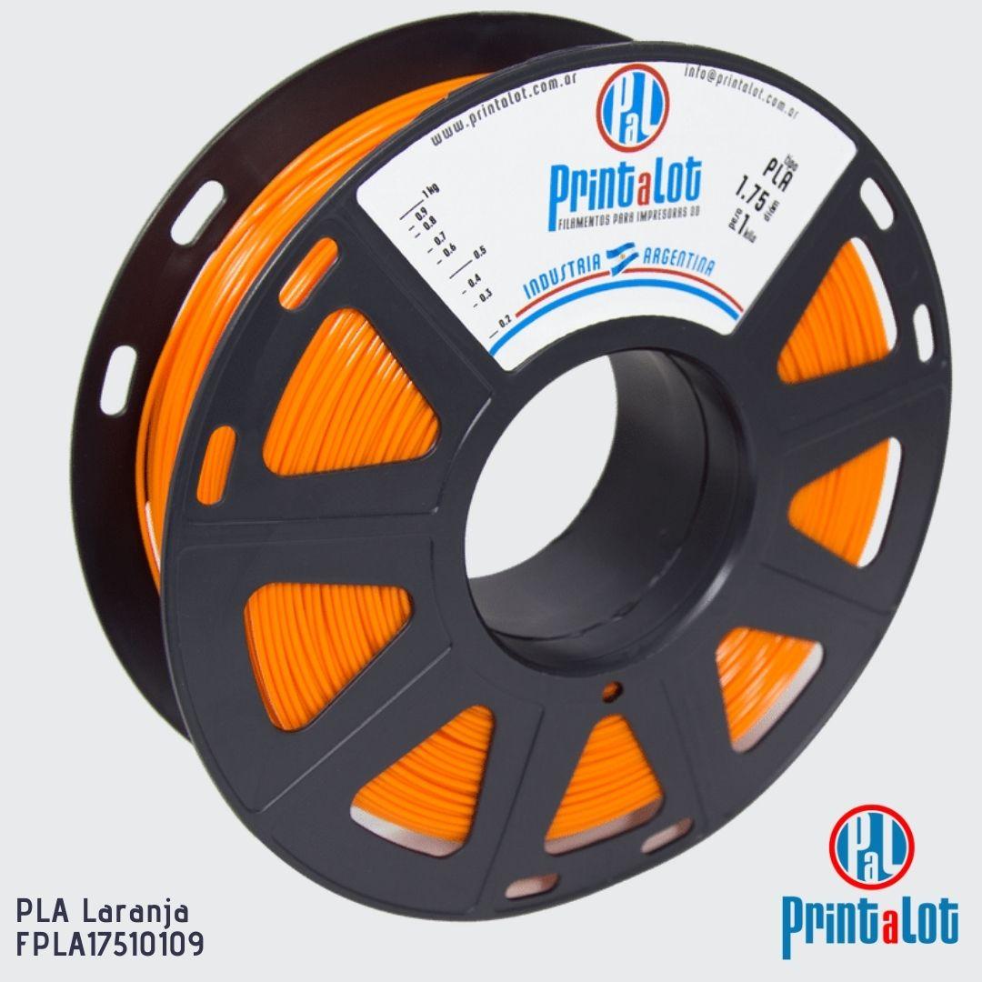 Filamento PLA - Laranja - PrintaLot - 1.75mm - 1KG