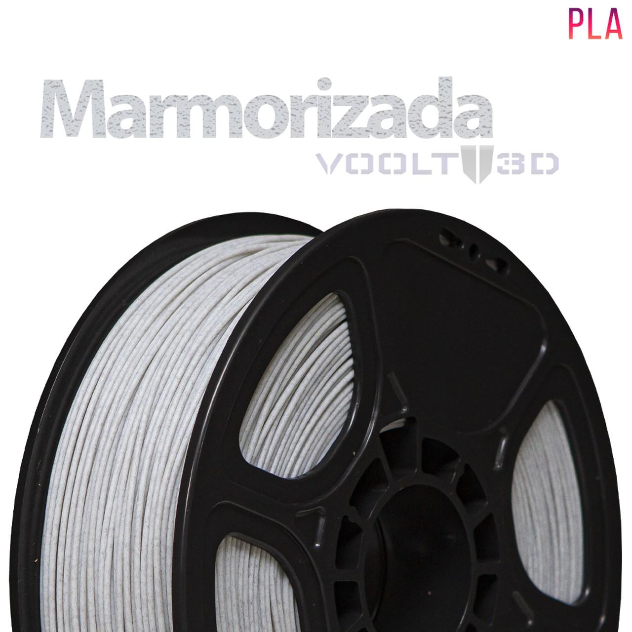 Filamento PLA - Marmorizado - Voolt - 1.75mm - 1kg