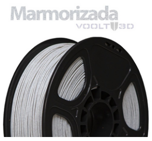 Filamento - PLA - Marmorizado - Voolt 3D - 1kg