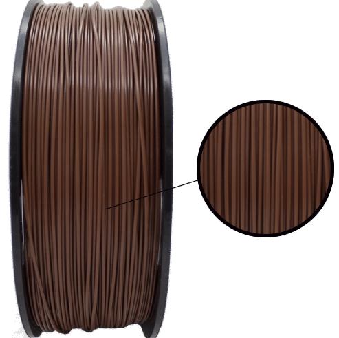 Filamento PLA - Marrom - 3D Lab - 1.75mm - 1kg
