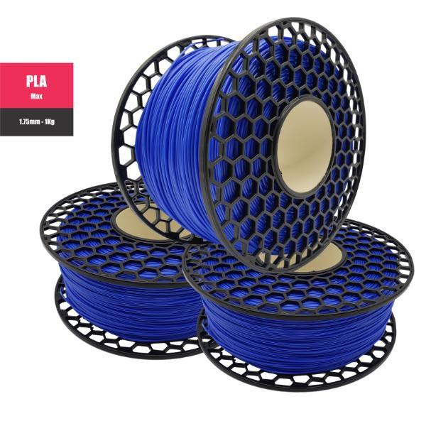 Filamento PLA Max - Azul Perolado - National 3D - 1.75mm - 1KG