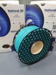 Filamento PLA Max - Azul Tifanny - National 3D - 1.75mm - 1KG