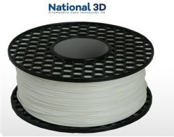 Filamento PLA Max - Branco - National 3D - 1.75mm - 500g
