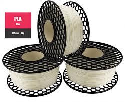 Filamento PLA Max - Natural - National 3D - 1.75mm - 500g