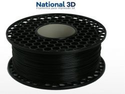 Filamento PLA Max - Preto - National 3D - 1.75mm - 1KG