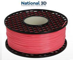 Filamento PLA Max - Rosa Perolado - National 3D - 1.75mm - 1KG