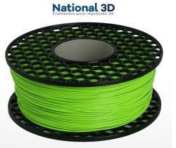 Filamento PLA Max - Verde Cítrico - National 3D - 1.75mm - 1KG