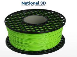 Filamento PLA Max - Verde Cítrico - National 3D - 1.75mm - 500g