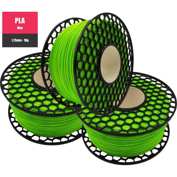 Filamento PLA Max Verde - National 3D - 1.75mm - 1KG